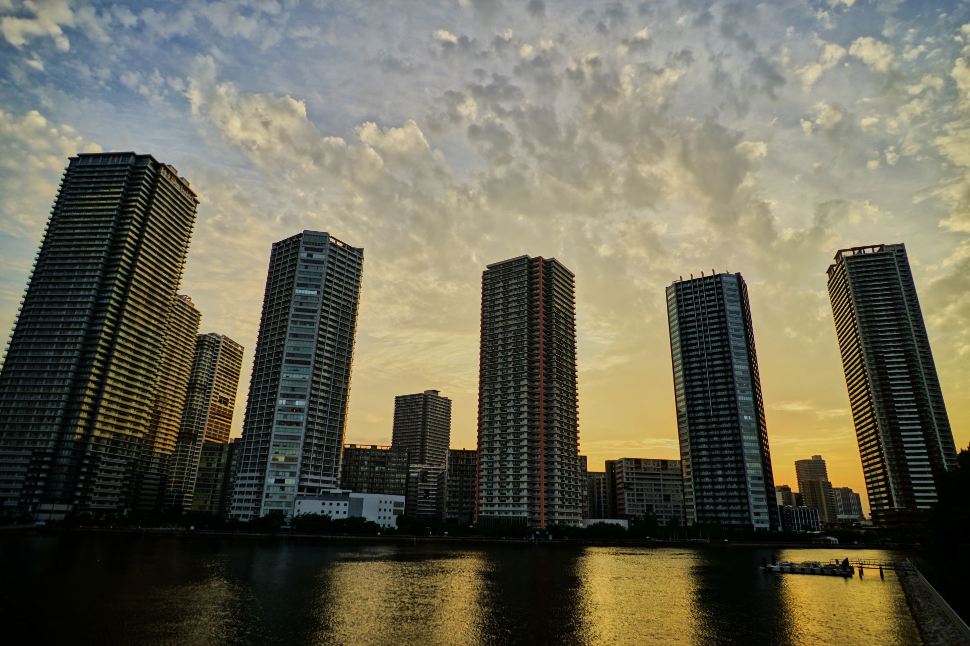 Shinonome Canal Sunset  (東雲運河サンセット)